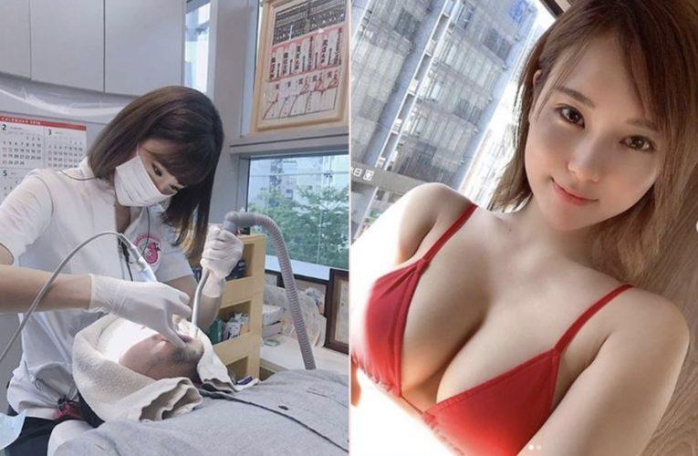 [新聞] 齒科衛生士「天使臉孔魔鬼身材」 網友朝聖狂喊:想洗牙!